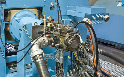 Специальный ремонтный стенд гидромоторов и насосов