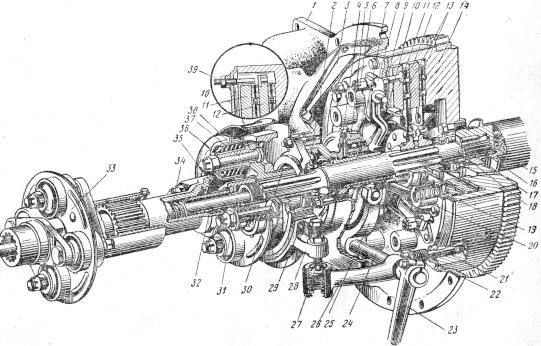 Устройство корзины сцепления А-41